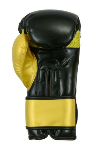 EVO MAYA Leather Boxing Gloves Sparring MMA GEL Training Fighting Wraps UFC