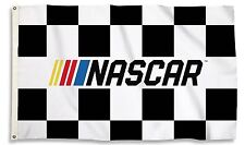 NASCAR 10877 3x5 Flag w/grommets CHECKERED Outdoor House Banner Racing