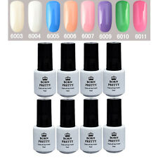 8 Bottles BORN PRETTY Soak Off One-step Gel Polish Manicure UV/LED 5ml 6003-6011