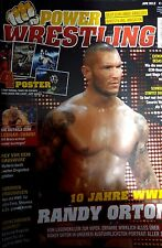 Power Wrestling Juni 06/2012 WWE WWF + 4 Poster (Tensai, No Escape, OTL, Hardy)
