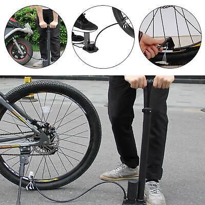 Portable Mini Bike Cycling Bicycle Tire Tyre Pump Gauge Road MTB Air Inflator