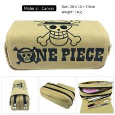 One Piece Ace D Japan Anime Pencil Canvas Bag Toiletry Bag 8/'/'