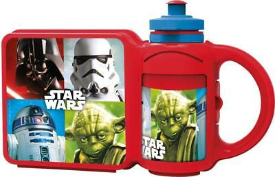Star Wars Lunch Box and 400ml Bottle Combo Set