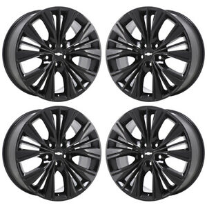 Image Is Loading 20 034 Chevrolet Impala Ltz Black Wheels Rims