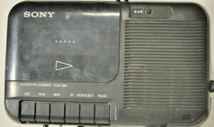 Sony-TCM-818-Portable-Cassette-Recorder-amp-Player-with-Power-Cord-Tested-amp-Works