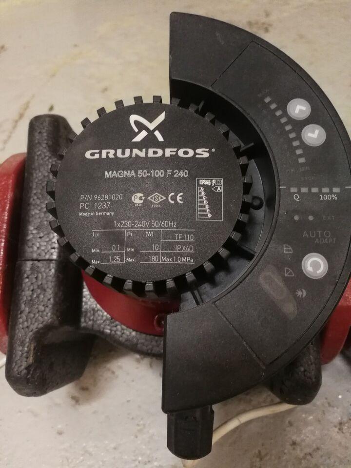 Cirkulationspumpe, Grundfos
