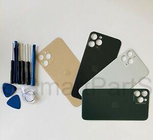 Per-Apple-iPhone-11-BATTERY-VETRO-copertura-di-ricambio-grande-foro-della-macchina-fotografica