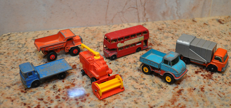 MatchBox Vintage Vehicles Lesney Lot of 6