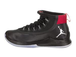 La foto se está cargando 897998-003-Jordan-Ultra-Fly-2-Baloncesto-Negro- 1e658044d