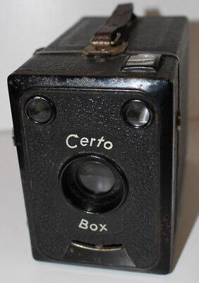 Certo Box Boxkamera Gebaut Ab 1930 Gut FüR Energie Und Die Milz
