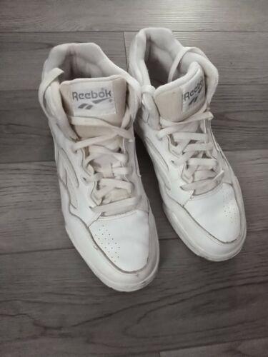 Vintage Reebok Hi Sneakers Shoes WHITE High Tops M