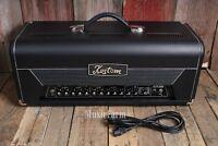 Kustom Hv100thd Electric Guitar Amplifier Head 100w 2 Channel Hybrid Tube Amp on Sale