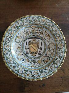Alzatina in maiolica di Castelli XVII Sec. | eBay