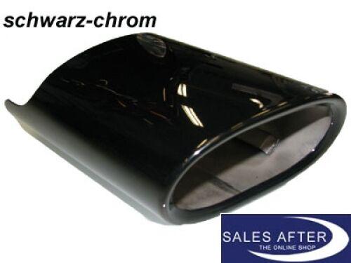 Original BMW Auspuffblende E90 E91 E92 E93 Schwarz Chrom Endrohrblende
