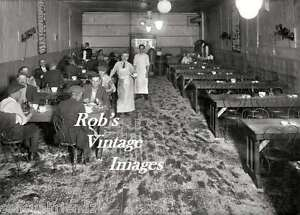 Details About New York City Photo Restaurant Working Man S Cafe Bowery Nyc 1907 Vintage