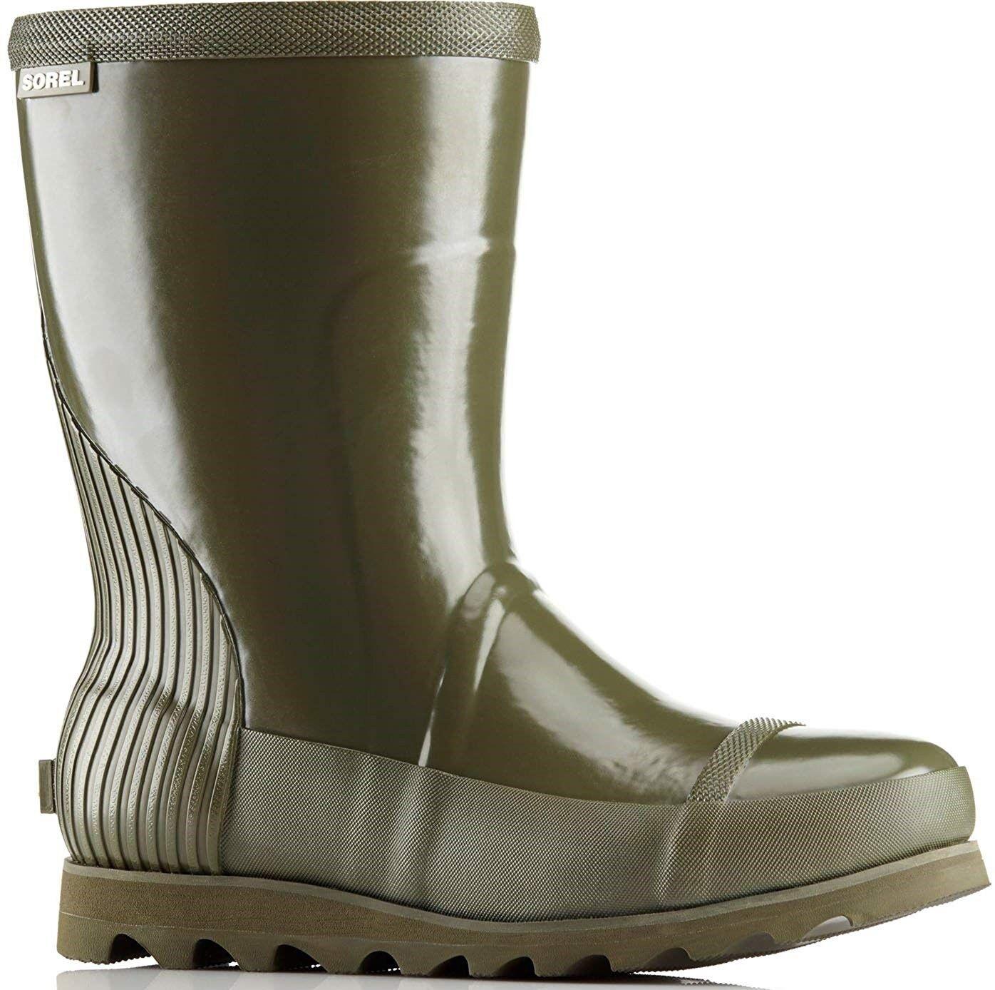 Joan Rain Short Gloss Boot