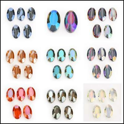 Bulk Crystal Wholesale Glass  Spacer  20pcs 18mm New Faceted Twist Tile Beads