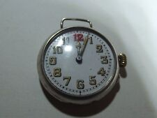 Orologio Trench D'Argento George Stockwell caso SWISS M 36 mm 1917