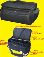 Extra Large Size Carrying Case Bag Sony Camcorder Hxr-mc2000u Mc1500e Nx3