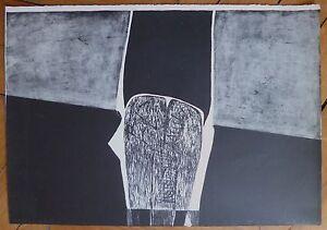 Acheter Pas Cher Carmassi Arturo Lithographie Signée 1959 Art Abstrait Abstraction Italie