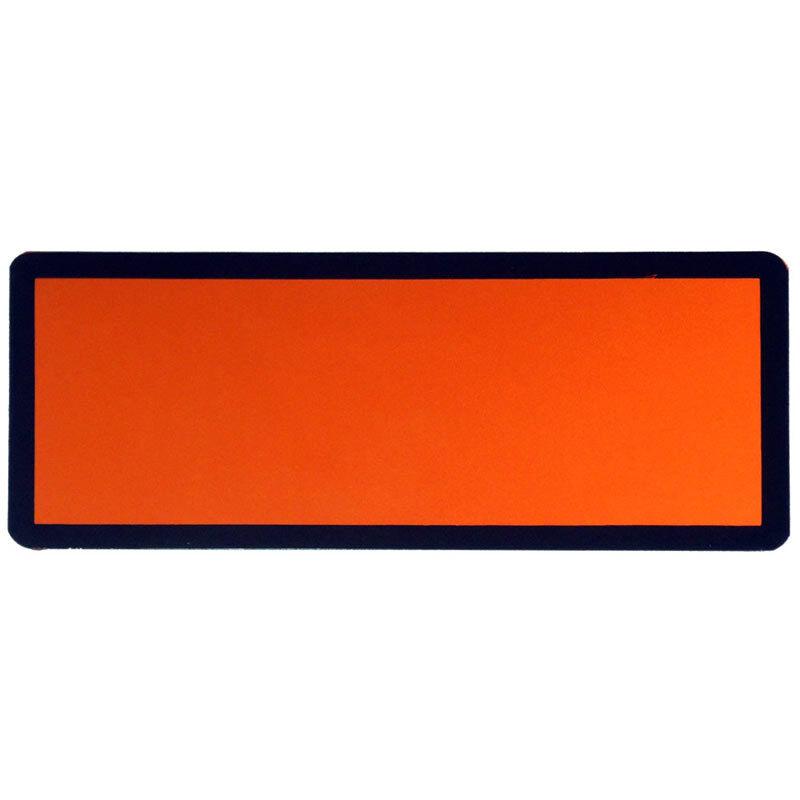 Magnetic Orange ADR Hazchem Plate Hazmat Placard for Dangerous Goods Vehicles