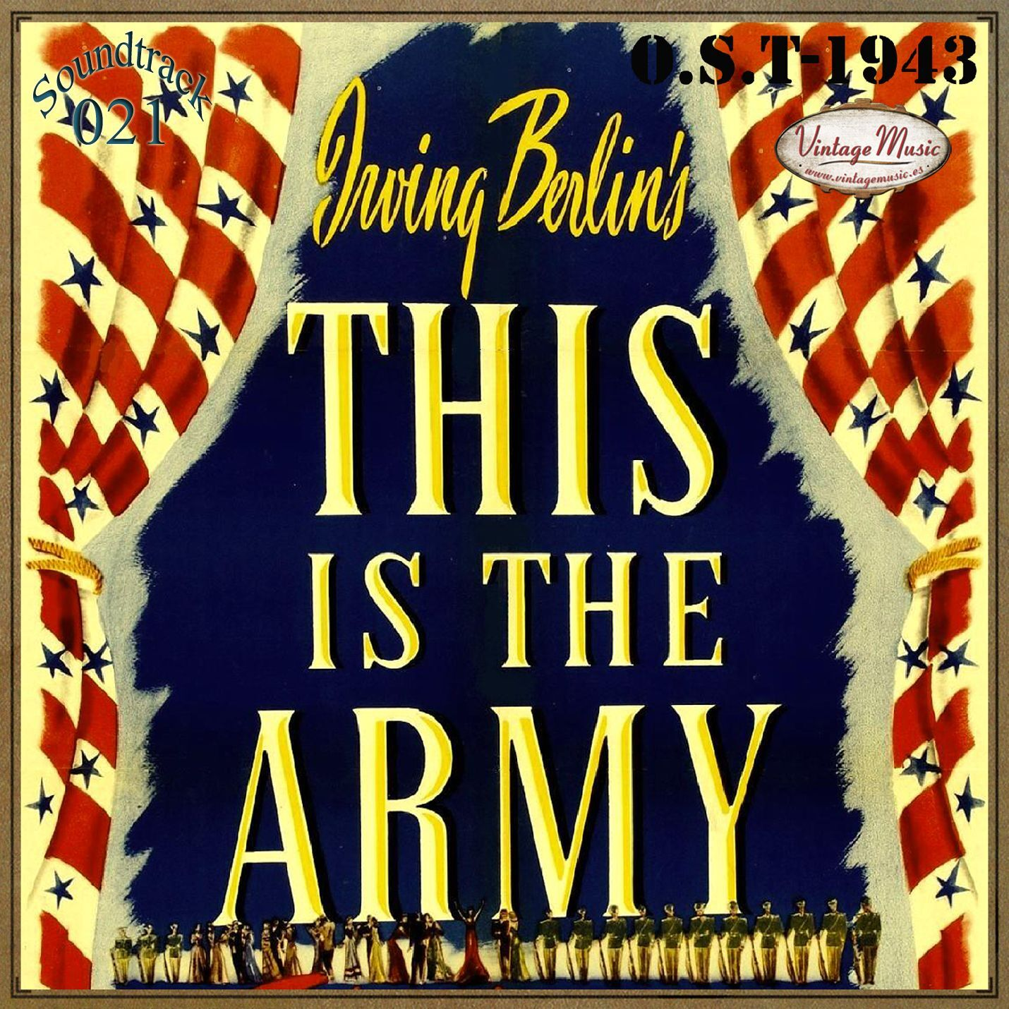 Various Artistas - THIS IS THE ARMY Soundtrack CD 21/100 - O.S.T 1943 Gertrude Niesen George Murphy - CD