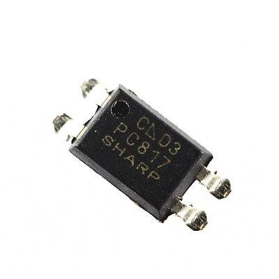 20PCS PC817 PC817C PC817//C PC817 SHARP SOP 4 Precise SMD Optocoupler