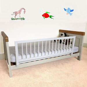 Image Is Loading Safetots Childrens Wooden Bed Rail Deluxe Toddler