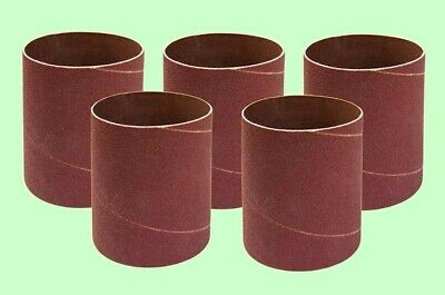 """4"""" X 7"""" Sanding Sleeves For Inflatable Sanding Drums-five Pack 80 Grit"""