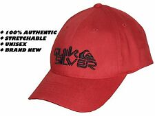 100% AUTHENTIC QUIKSILVER UNISEX RED BASEBALL CAP MENS / WOMENS - FLEXFIT HAT