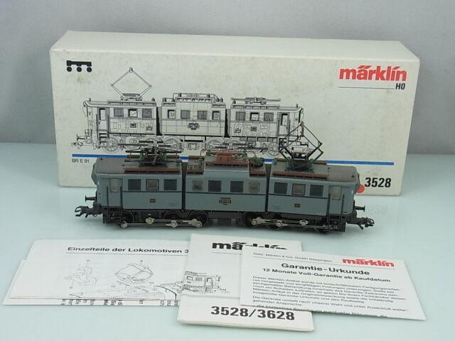 Märklin HO 3528 Elektrolok BR E 91 Lokomotive Lok OVP