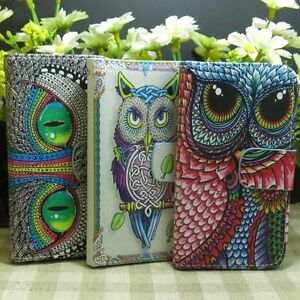 Super-Cool-OWL-Eye-Wallet-Kickstand-flip-case-cover-for-Sony-Xperia-Phone