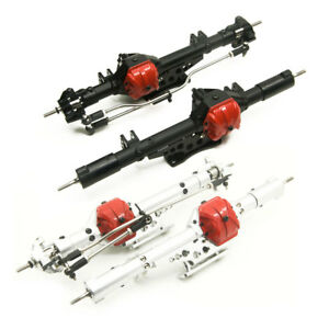 Aluminum-Alloy-Front-amp-Rear-Axles-Set-for-1-10-Axial-Wraith-90018-RC-Crawler