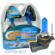 GP THUNDER 7500K 9012 HIR2 PX22D Xenon Head Light Bulbs For Dodge Chrysler Fiat
