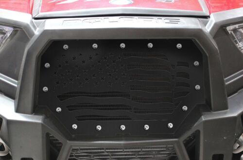 Steel Grill fits Polaris Part RZR 1000 XP 2014-2018 RZR 900 S ATV Grille AMERICA
