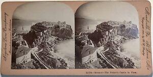 Monaco Panorama Photographie Stereo Vintage Albumine 1900 éConomisez 50-70%