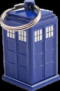 Doctor Who TARDIS Emergency Fund Keychain-WOWDW1011