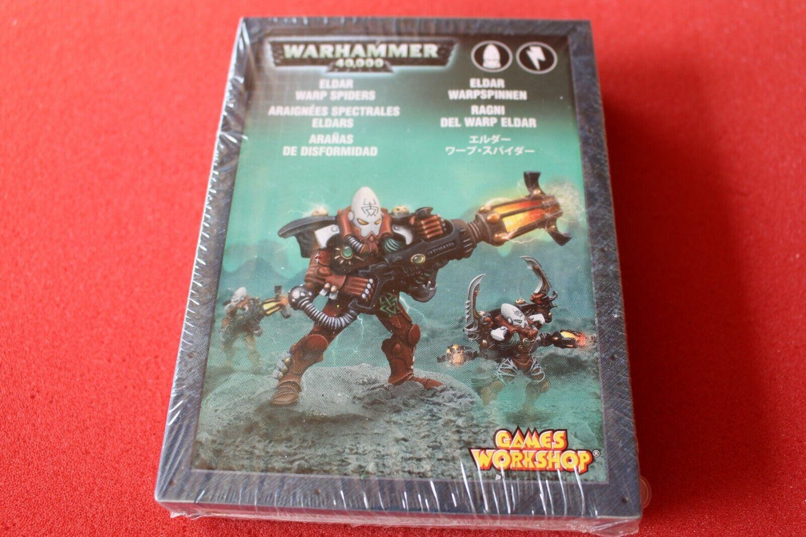 Games Workshop Warhammer 40k Eldar Warp Spiders  Squad Metal BNIB nouveau WH40K OOP  gros pas cher