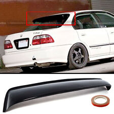 1992-1995 Honda Civic Coupe EJ Rear Roof Window Visor with Stability Brackets