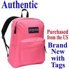 Jansport SUPERBREAK CLASSIC Backpack FLUORESCENT PINK - Travel School Bag