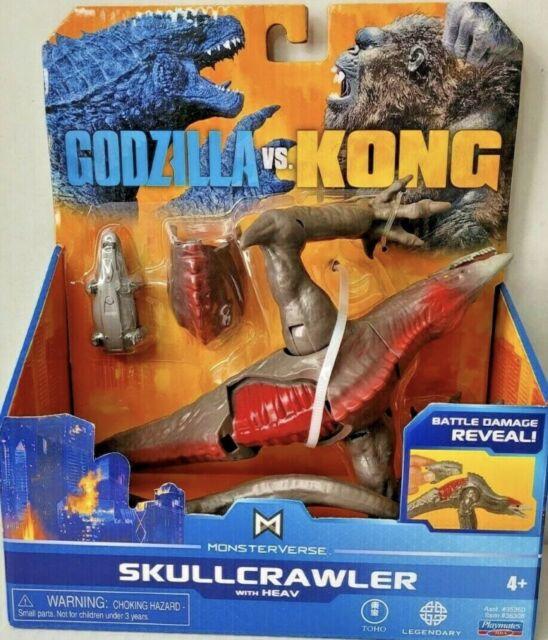 Monsterverse Godzilla vs Kong SKULLCRAWLER Action Figure With Heav New