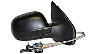 Mechanical Side Mirror Aspherical Primed LEFT Fits VW Polo 1999-2002