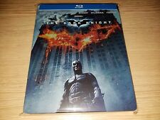 The Dark Knight Steelbook (Blu-ray, 2-Discs) USA Region Free Near MINT