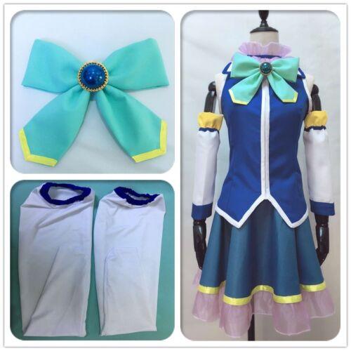 Cosplay Costume Goddess Aqua N KonoSuba God/'s Blessing on This Wonderful World