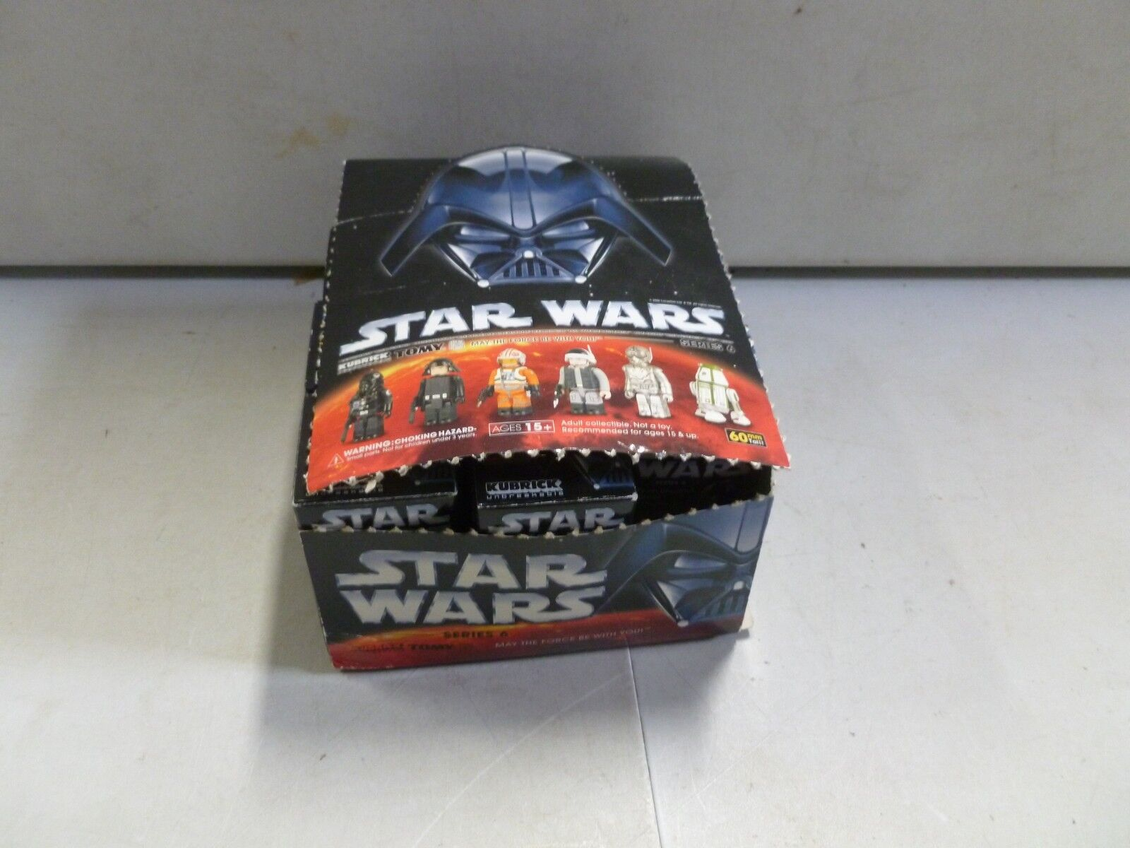 Lot of 10 Star Wars Cubric Figures Series 6