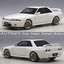 AUTOart 77416 1/18 Nissan Skyline GT-R (R32) V-Spec II Tuned Crystal White