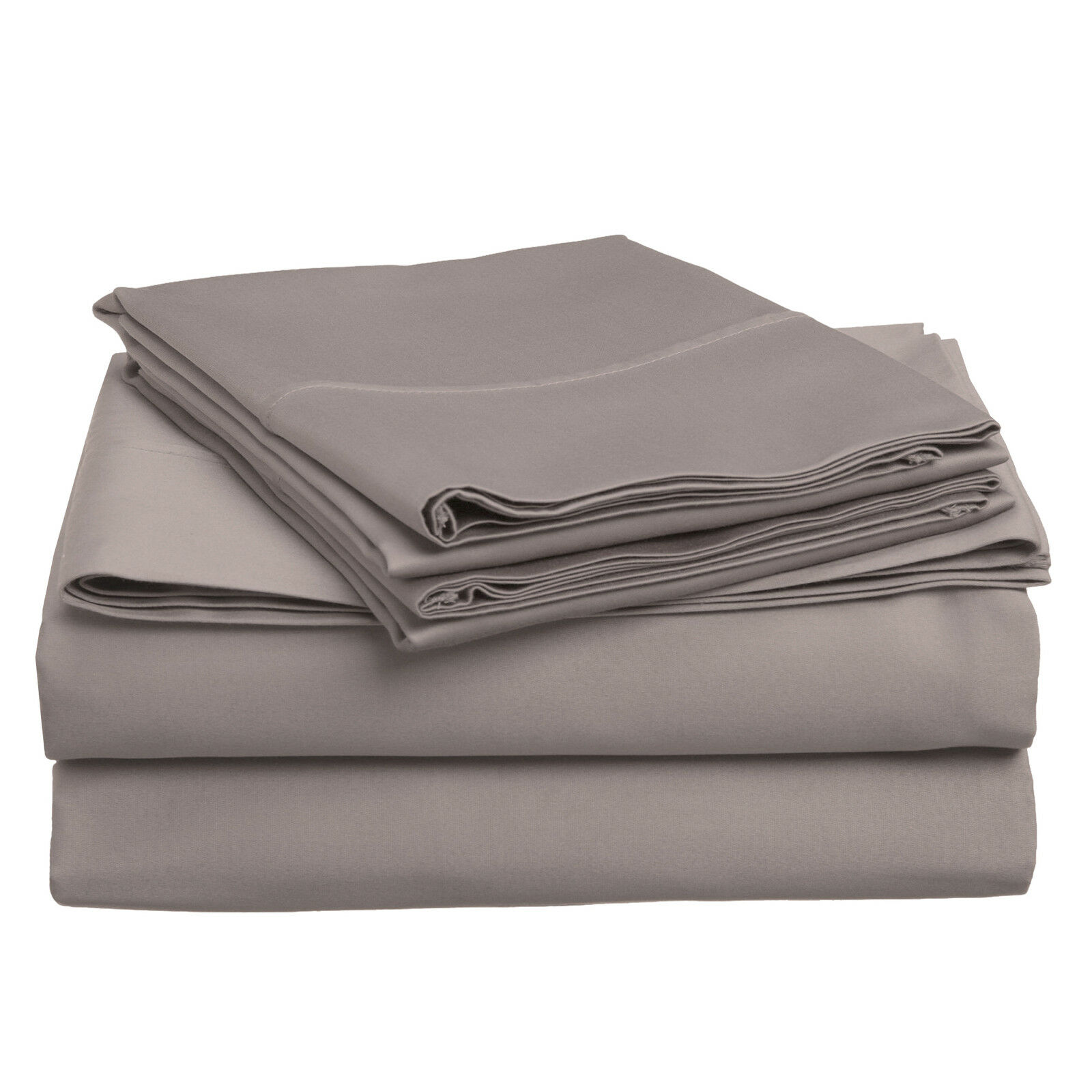 500 SHEET SET COTTON SOLID-grigio