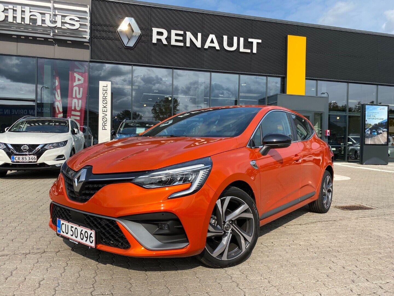 Renault Clio V 1,0 TCe 100 R.S. Line 5d - 184.900 kr.