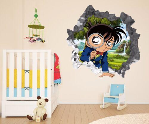 3D Detektiv Conan 9 Mauer Murals Mauer Aufklebe Decal Durchbruch AJ WALLPAPER DE
