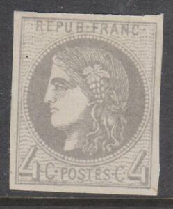 France-1870-4c-Grey-stamp-M-M-SG-154